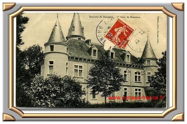 Château de MONTCEAU -70-150