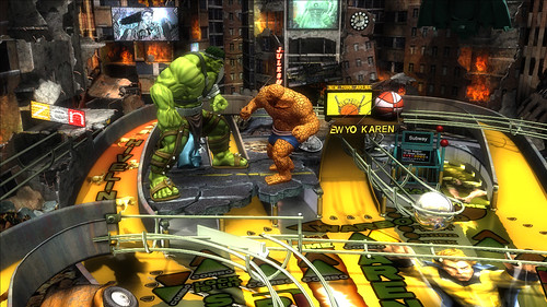 World War Hulk - Marvel Pinball: Avengers Chronicles