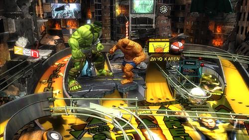 World War Hulk - Marvel Pinball: Avengers Chronicles