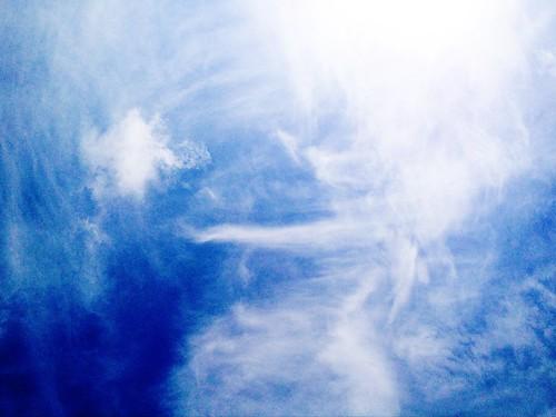 [フリー画像素材] 自然風景, 空, 雲, 青空 ID:201206230600