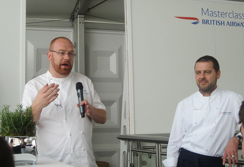 Simon Hulstone at British Airways Height Cuisine Launch - Taste of London 2012