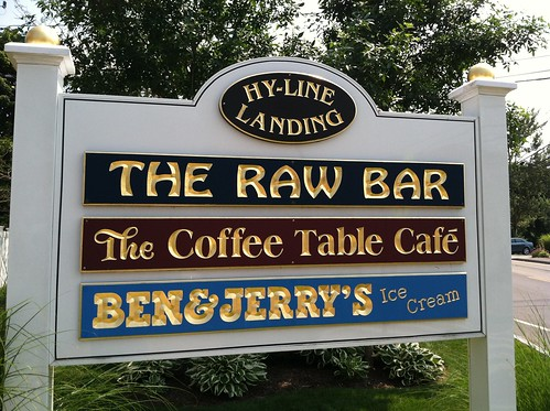 hyline raw bar sign