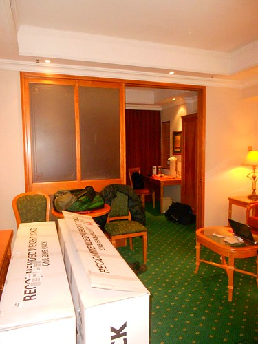 Hotel Room and Bicycle Boxes