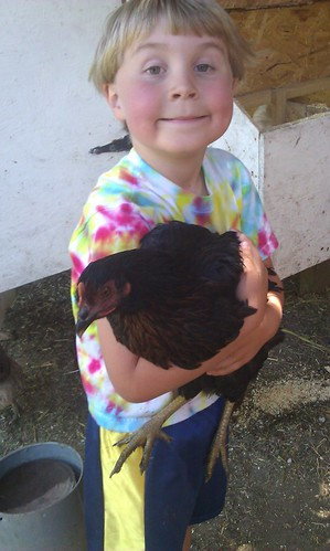 Asher Caught a Pullet