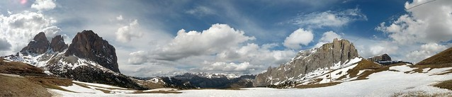 Sella Pass Panorama
