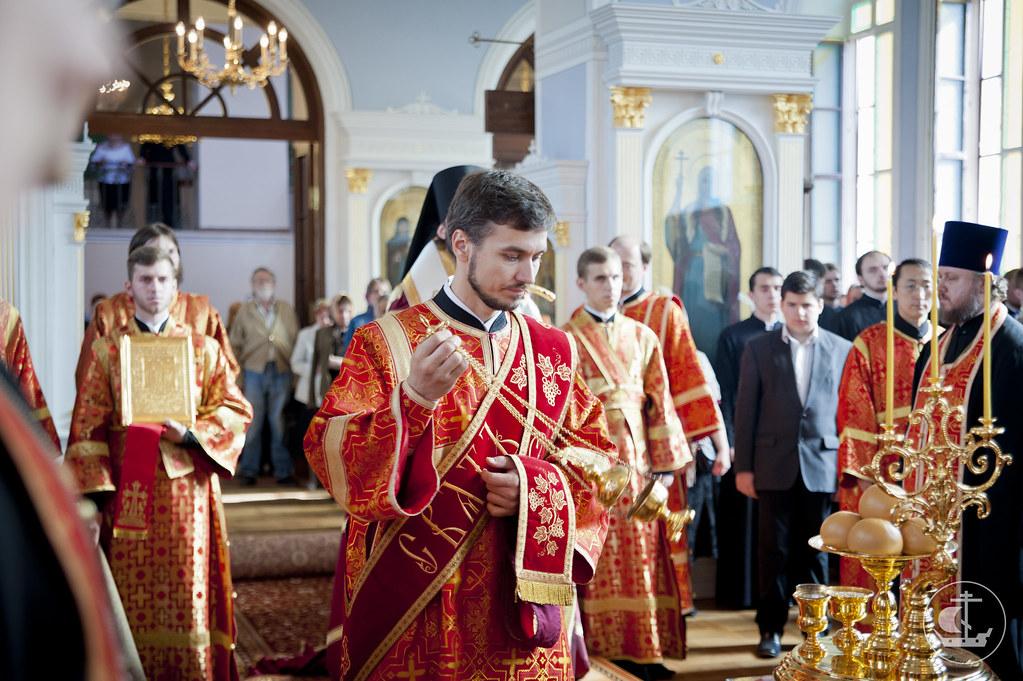 20 мая 2013, Всенощное бдение накануне дня памяти апостола и евангелиста Иоанна Богослова