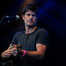 Seth Lakeman on stage at the Bearded Theory Festival