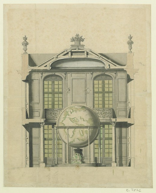 (design from the Robert de Cotte architectural collection of 18th c. France)