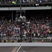 Tony Kanaan wins the Indianapolis 500