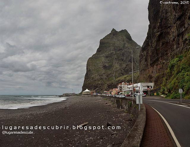 Praia de São Vicente (Madeira, Portugal)