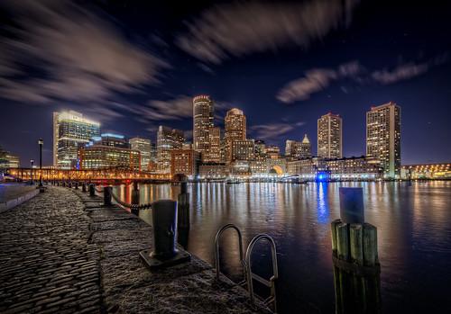 The Boston Harborwalk