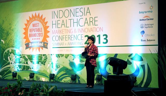 Indonesia Health Care Marketing & Innovation Conference 2013 – MC.