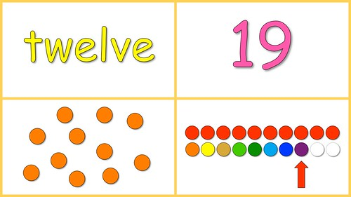 Learning Numbers 10-20 Free Baby Math Video