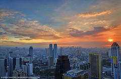 Ortigas Skyline Sunset