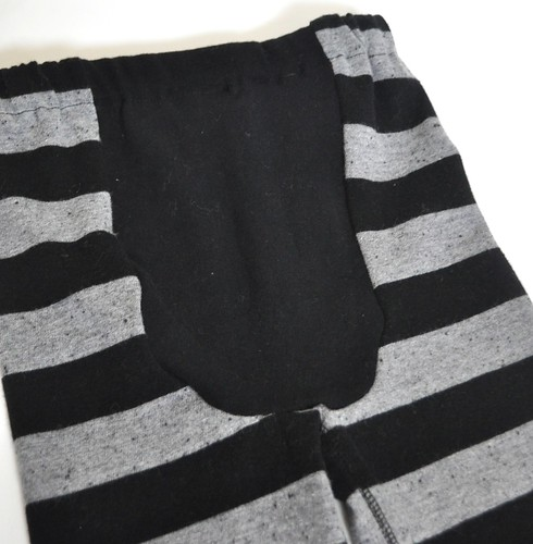 Black and Grey Striped Lounge Pants *2T/3T*