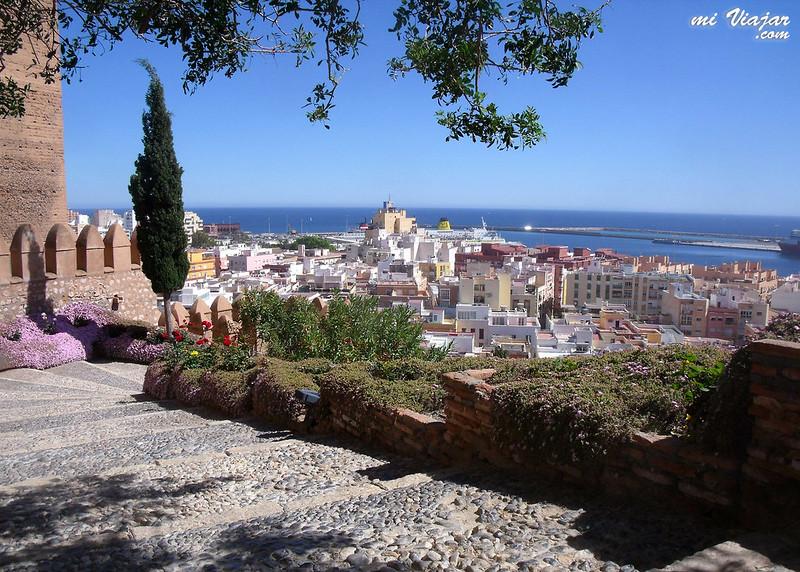 Almería, vista desde la Alcazaba
