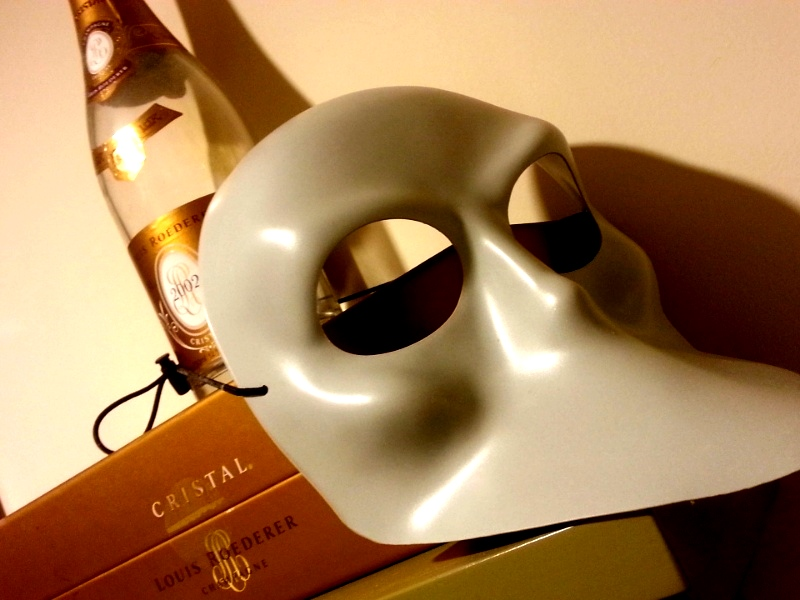 Sleep No More Mask Cristal champagne