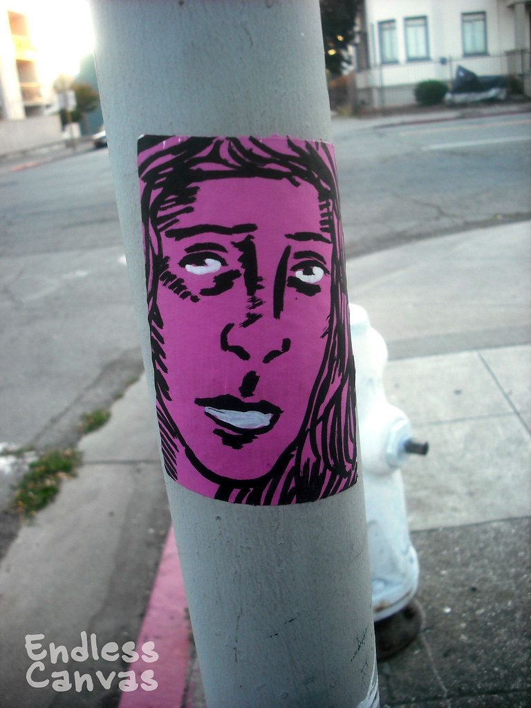 YENTA sticker - Oakland, Ca