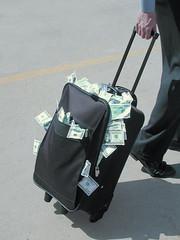 bag, suitcase,