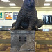 Grizzly Bear statue - bozeman airport - 2013-07-01