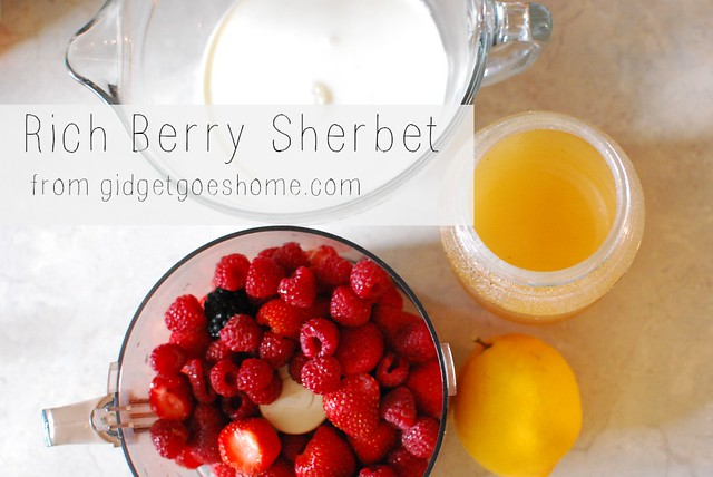 rich berry sherbet ingredients