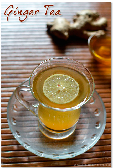 Ginger Tea Recipe(without milk)