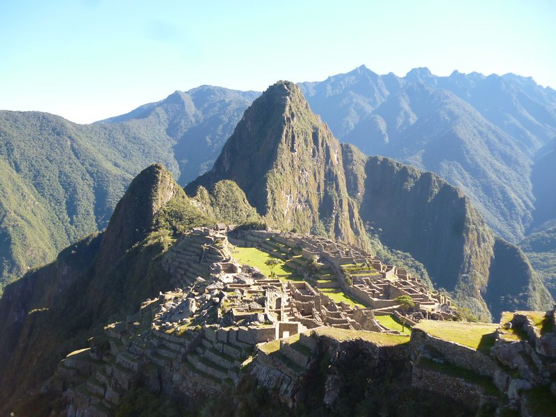 Dreamy version of Machu Picchu