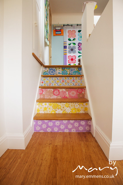 New stairs - after