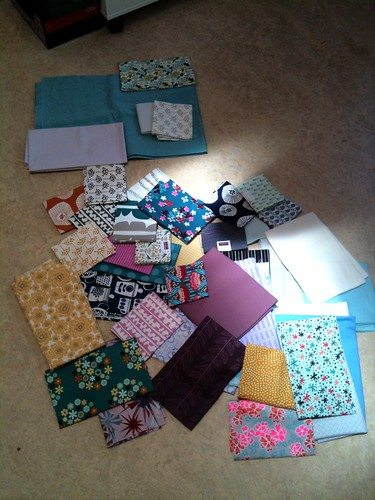Fabric picks for the Penny Sampler