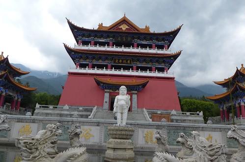 Yunnan13-Dali-9. Bassin de Bouddha (2)