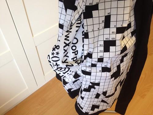 crossword dress #2 pockets (Futura)