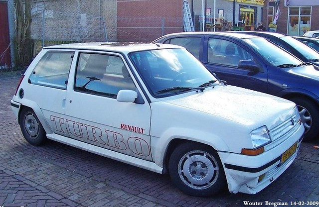 Renault 5 GT Turbo 1989