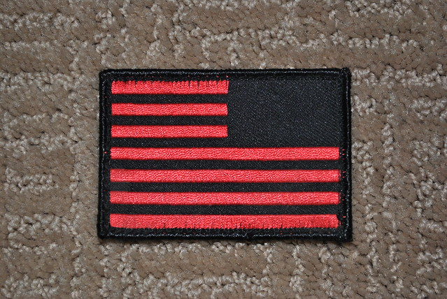 GORUCK Reverse Flag Patch (Red)