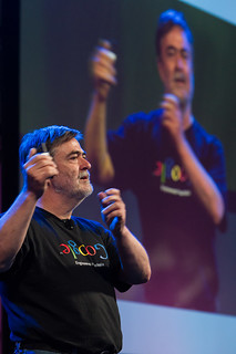 Gordon Rowell keynotes at PuppetConf 2013