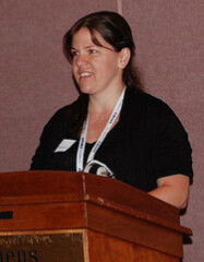 NBS 2013 ANA presentation by ANS librarian Elizabeth Hahn closeup