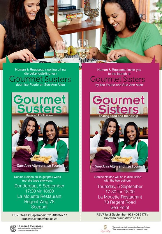 Invitation: Launch of Gourmet Sisters