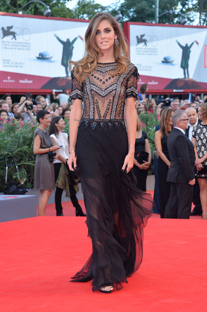 Chiara Ferragni - Venice Film Festival - 28th August 2013