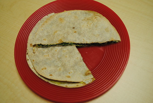 Baked Spinach & Cheese Stuffed Tortillas (3)