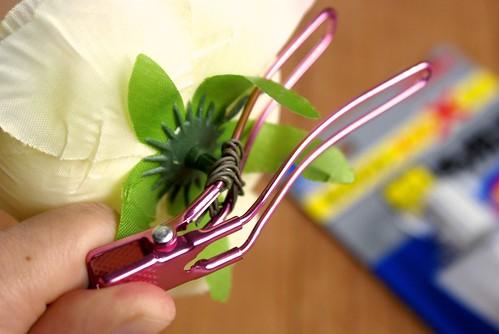 手作りヘアアクセサリ