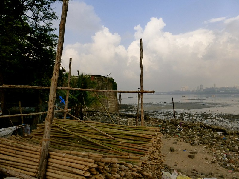 Mahim Fort - bamboo traders haven