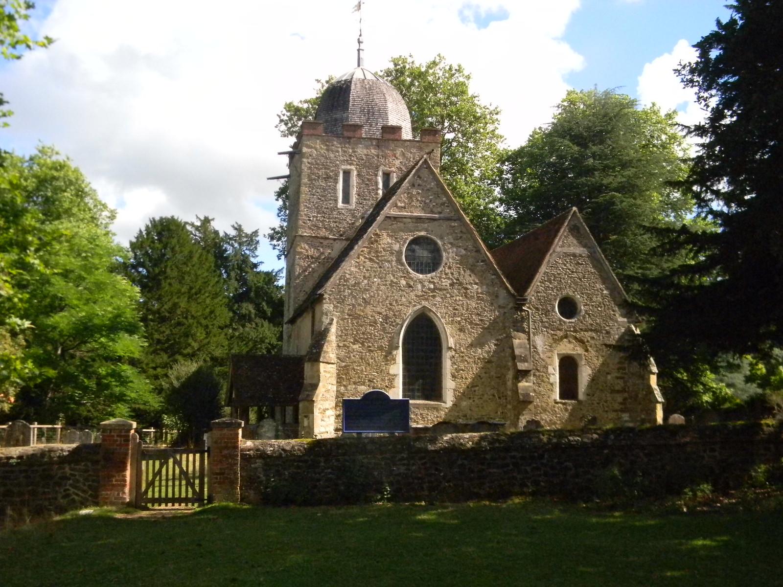 Al;bury church Guildford Circular via Albury.