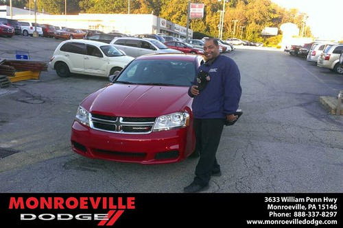 Thank you to Oscar Hall  on your new car  from Eldred Obodai and everyone at Monroeville Dodge! by Monroeville Dodge