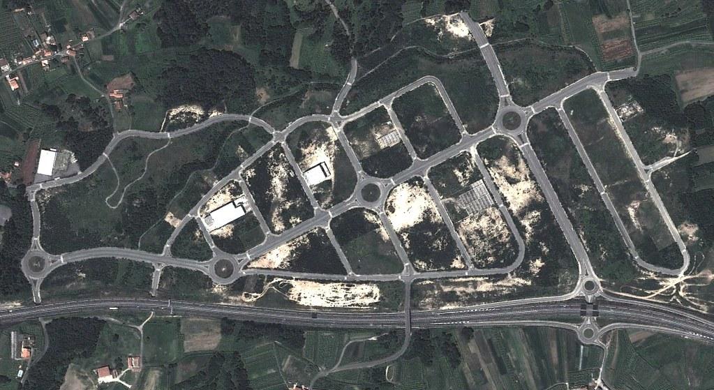 A Revolta, Sanxenxo, Pontevedra, vías rápidas en autopistas, quién lo iba a sospechar, después, urbanismo, planeamiento, urbano, desastre, urbanístico, construcción, rotondas, carretera