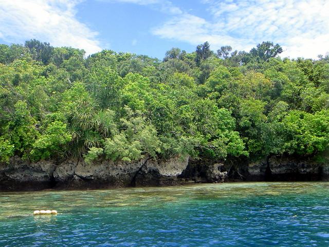 Isla Ngemelis, Archipiélago de Chelbacheb, Islas Roca de Palaos, Micronesia