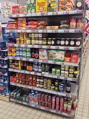 The British shelves
