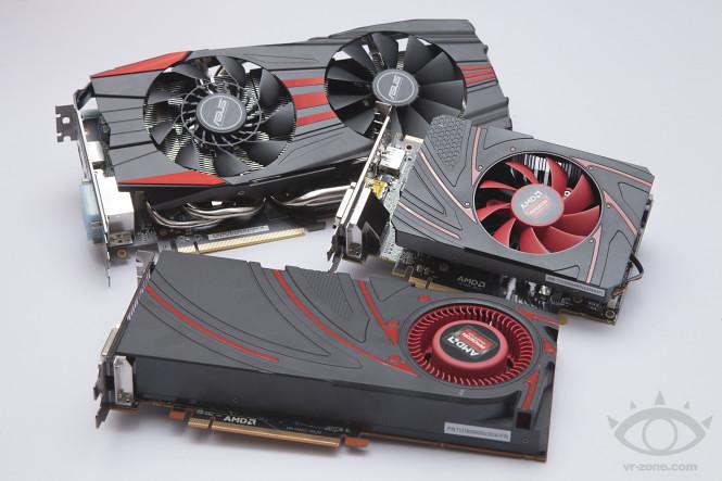 AMD Radeon R9 270X、R7 260X,與ASUS Radeon R9 280X DirectCU