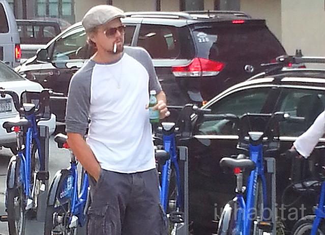 Leonardo DiCaprio Citi Bike