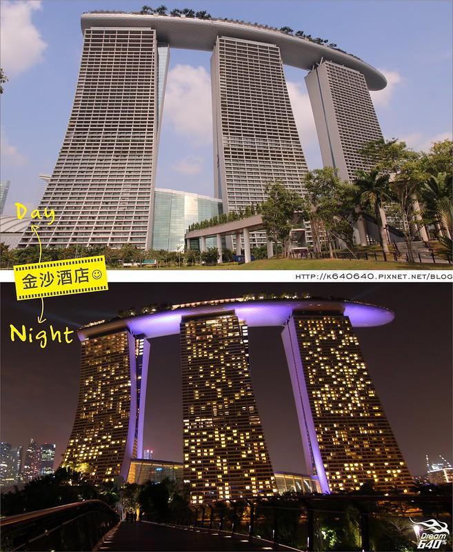 新加坡日夜對照-金沙酒店