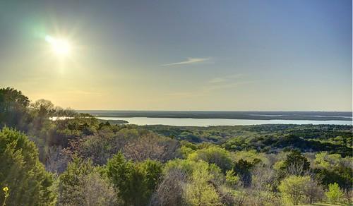 travel trees sunset sun landscape landscapes dallas texas tx hdr highdynamicrange a7 cedarhill joepool joepoollake sonya7 sel35f28z