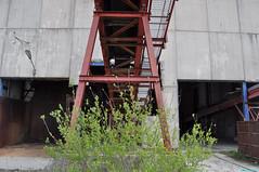 Abandoned concrete plant.